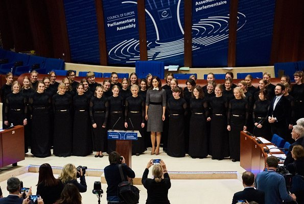 Crown Princess Mary of Denmark became the new patron Danish National Girls Choir