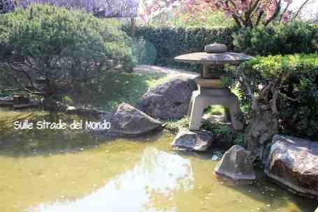 il giardino giapponese di roma in primavera