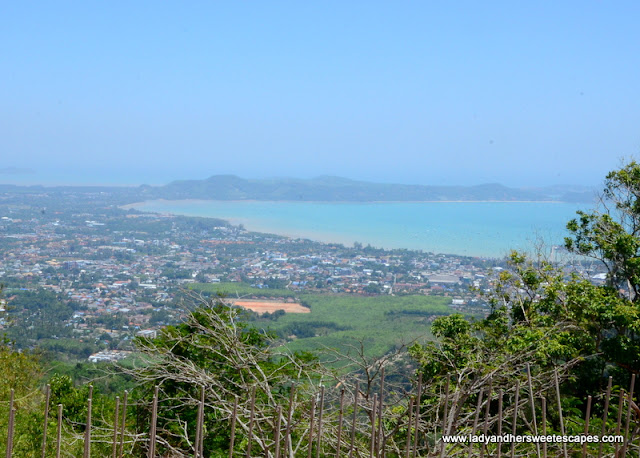 panoramic view of Phuket from Big Buddha