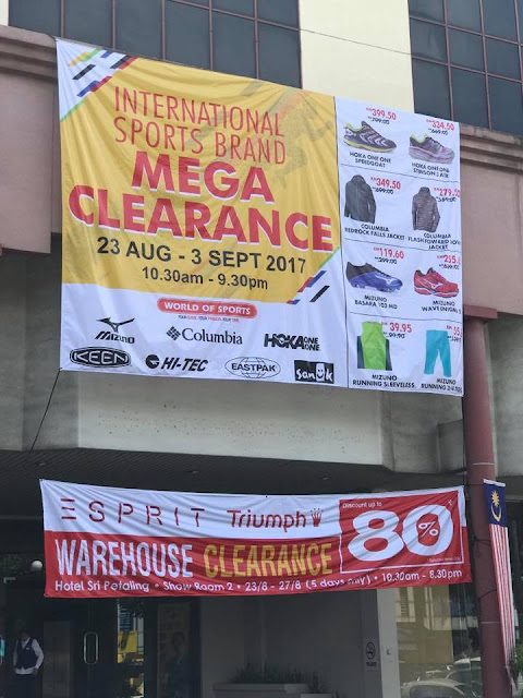 International Sports Brand Mega Clearance Sale