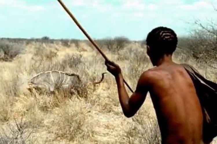 Ada yerlileri avcılık ve bitki toplayarak yaşamlarını sürdürüyor.