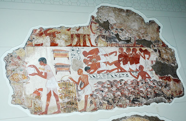Scene from the lost tomb-chapel of Nebamun