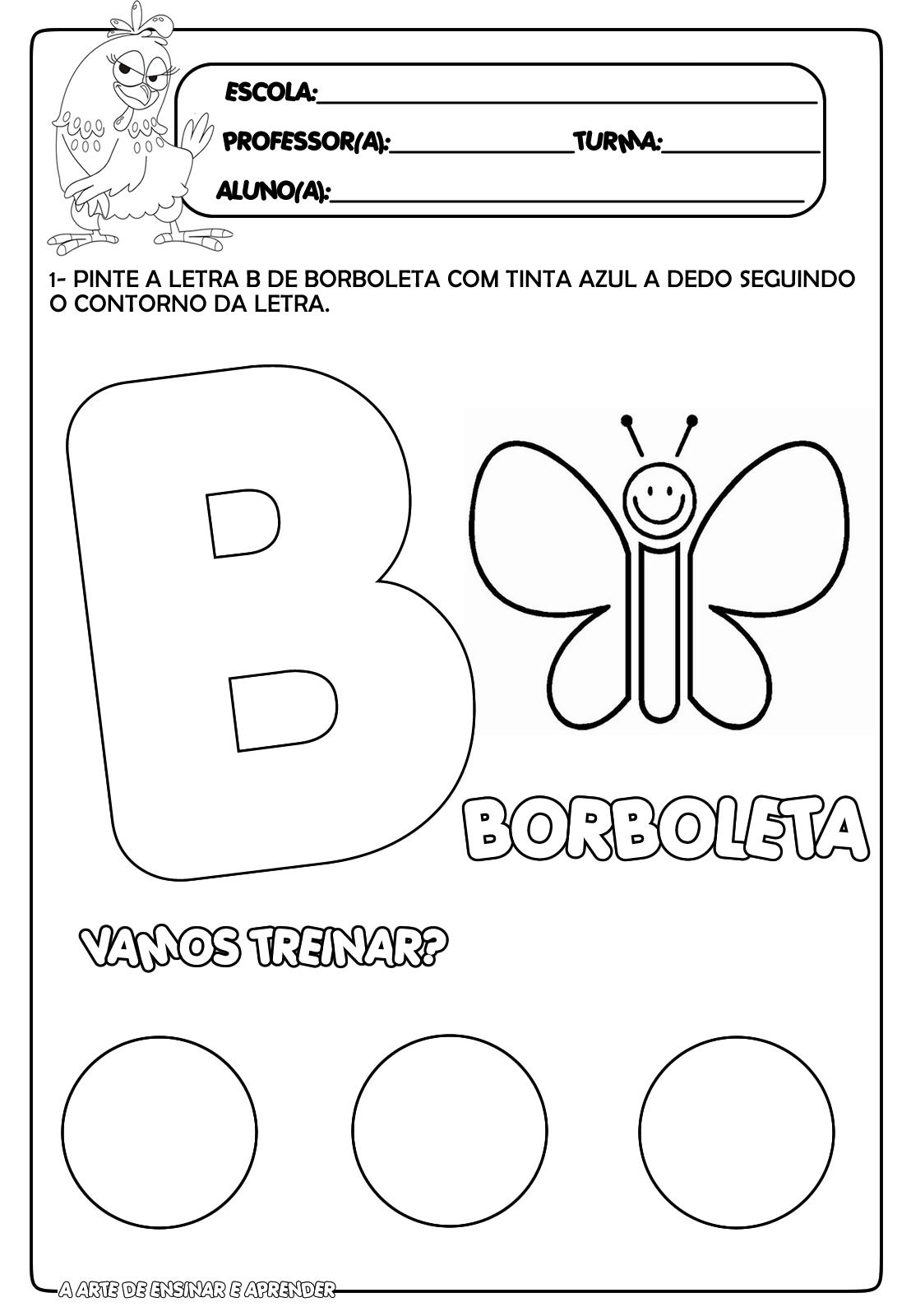 Alfabeto Divertido: Letra B