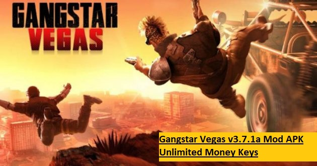 Gangstar Vegas v3.7.1a Mod APK Unlimited Money Keys