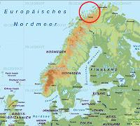 Spirale über Norwegen