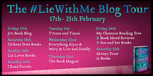 BLOG TOUR: 'Lie With Me' by Sabine Durrant - SPOILER FREE