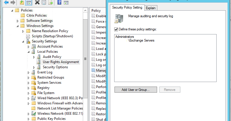 There's a script for that: Exchange Management Shell not