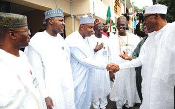 22 apc senators working against buhari