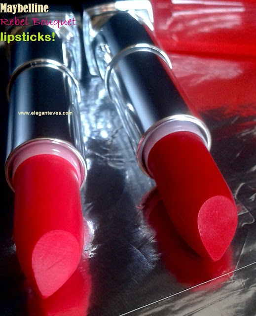 Maybelline Rebel Bouquet Lipsticks REB01 and REB02
