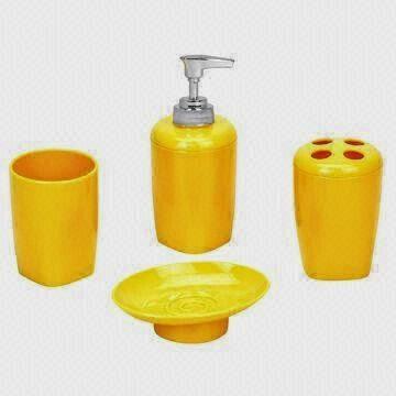 Bathroom Kingdom Illuminate Your Bathroom Yellow Bathroom Accessories