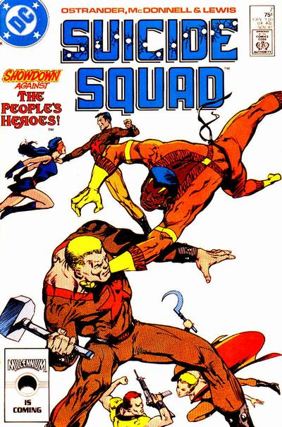 cover of Suicide Squad v1 #7 (1987). Property of DC comics.