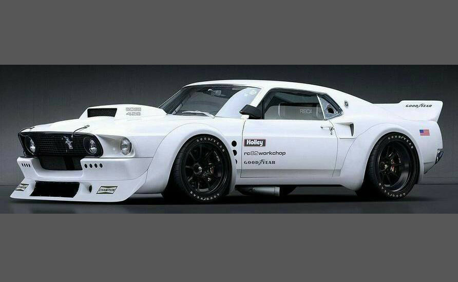 Muscle Car Collection Ford Mustang 427 Body Kit Custom