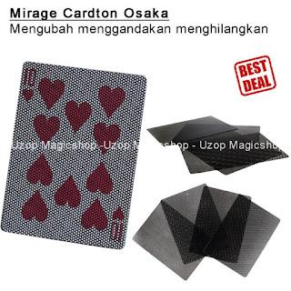Jual alat sulap card mirage ton Onosaka