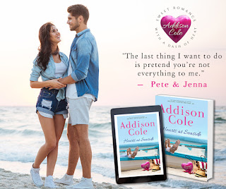 Excerpt: Hearts at Seaside by Addison Cole (with giveaway)