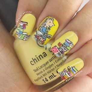 Roald Dahl Matilda Manicure