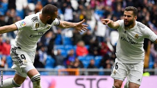 Real Madrid saved by Benzema double