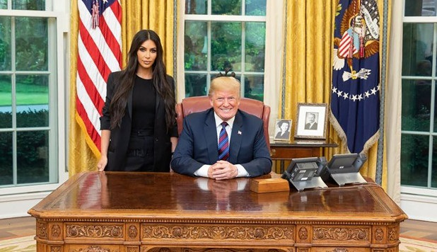 Kim Kardashian rejoices as Trump signs prison reform legislation she craved for