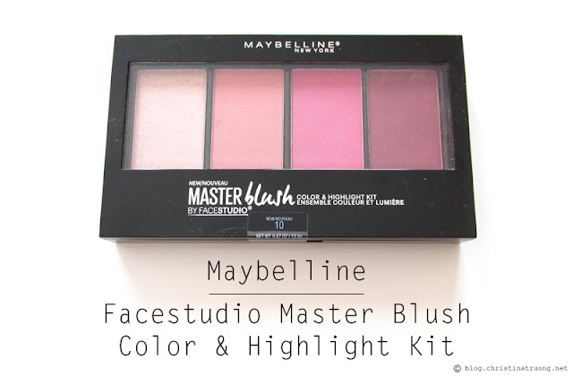 ChickAdvisor Unboxing - Maybelline New York Facestudio Master Blush Color and Highlight Kit