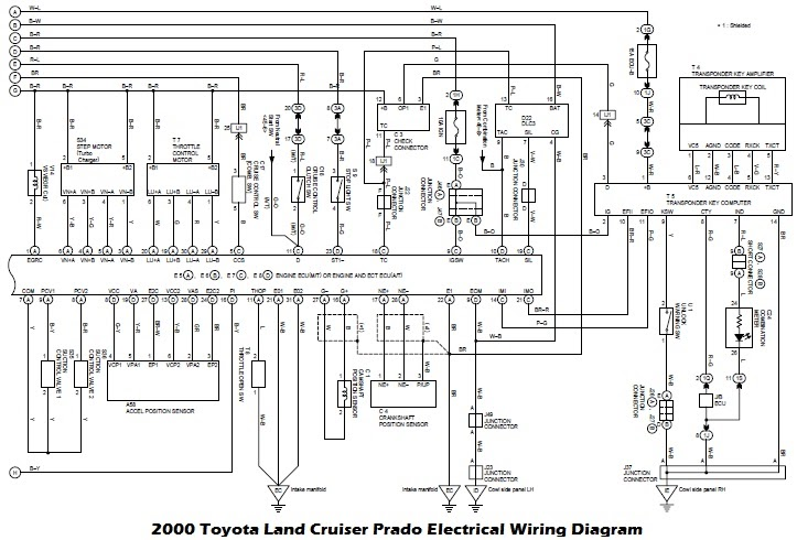 Wiring Diagrams  2000 Toyota Land Cruiser Prado