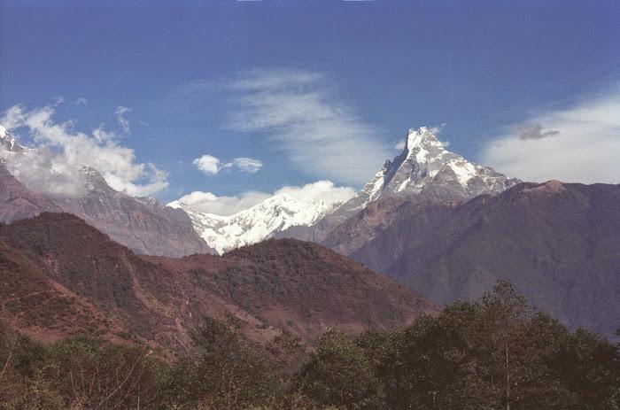 Népal, Pokhara, Annapurna, Ghorapani, © L. Gigout, 1990