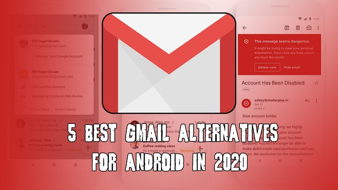 5 best Gmail alternatives for Android in 2020