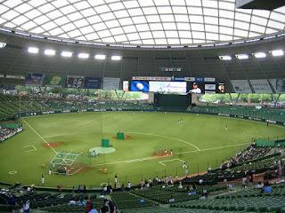 Home to center, Seibu Dome