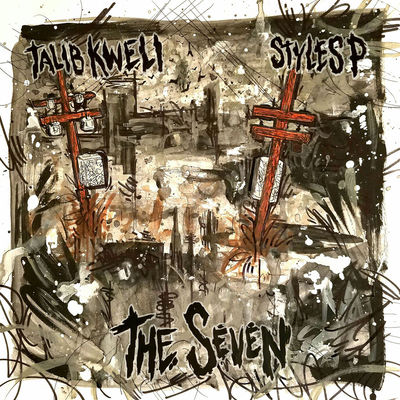 Talib Kweli & Styles P - The Seven - Album Download, Itunes Cover, Official Cover, Album CD Cover Art, Tracklist