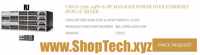 CISCO 3750-24PS-S-RF MANAGED POWER OVER ETHERNET (POE)