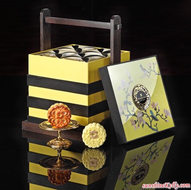 Mooncake, Shangri-La Hotel, Kuala Lumpur, Mid-Autumn Festival, Musang King Durian Mooncake, Birds Nest Mooncake