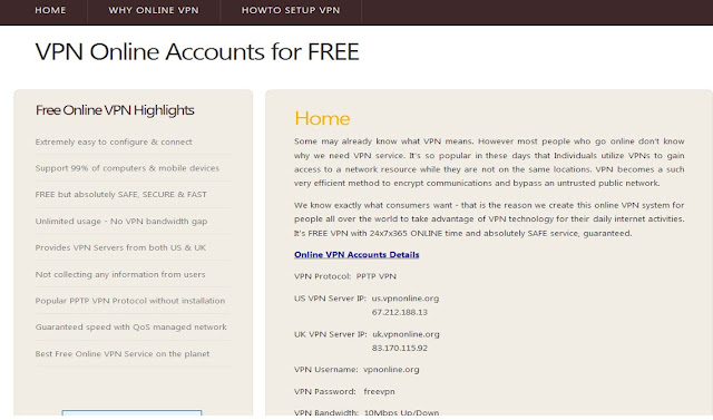 BEST 3 FREE PPTP VPN SERVICES ~ WAPBEAST