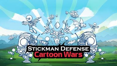 Hallo teman pada kesempatan kali ini aku akan membagikan kepada teman semuanya sebuah ga Unduh Game Stickman Defense: Cartoon Wars v1.2.5 Mod Apk