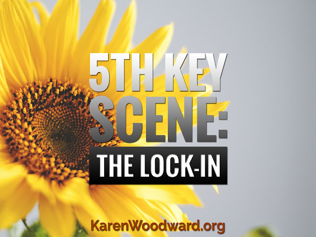 (NaNoWriMo Day 5): 5th Key Scene: The Lock-In