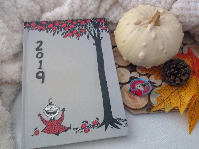 Moomin Collection, Kalendarz książkowy 2019