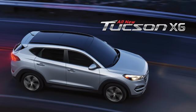 Hyundai Tucson XG sunroof