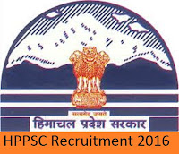 HPSSSB Recruitment 2016 for 1015 Various Posts