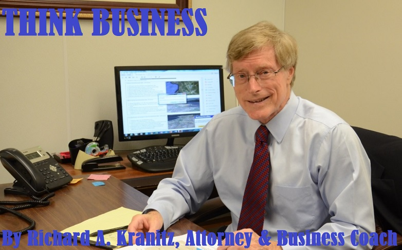 Blog of Richard A. Kranitz, Attorney & Business Coach in Wisconsin.