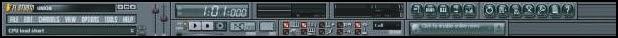 Menu Toolbars FL Studio (Fruity Loops)