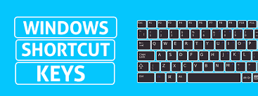 Windows shortcut keys a to z