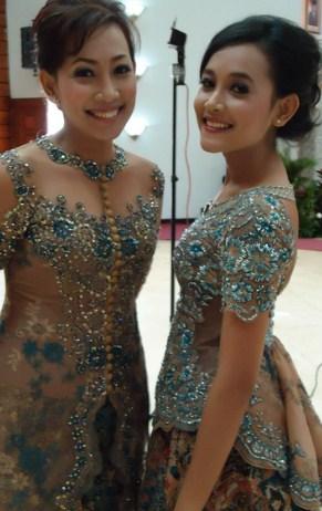 contoh Model Kebaya Batik pernikahan