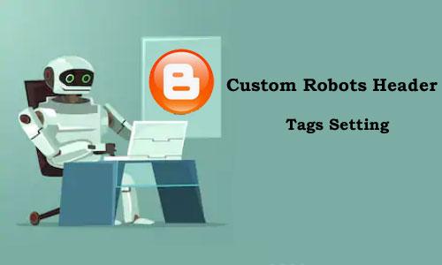 Custom Robots Header Tags Setting Kaise Kare