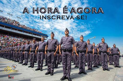 A HORA É ESSA INSCREVA-SE! POLÍCIA MILITAR ABRIRÁ CONCURSO PARA SOLDADOS