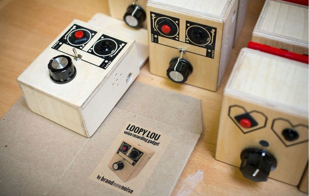 BrandNewNoise by Richard Upchurch - Handmade Voice Recorders and