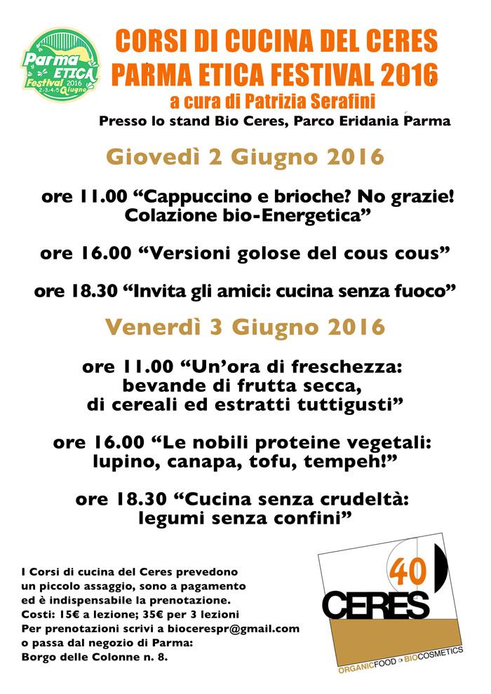 ceres notizie: parma etica - corsi di cucina ceres - Corsi Cucina Parma