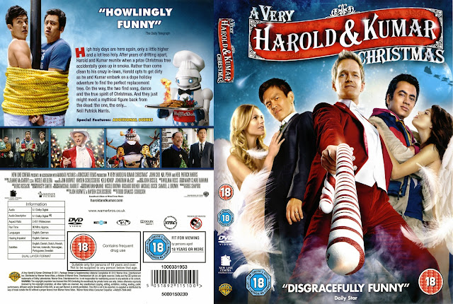 A Very Harold & Kumar Christmas DVD Cover