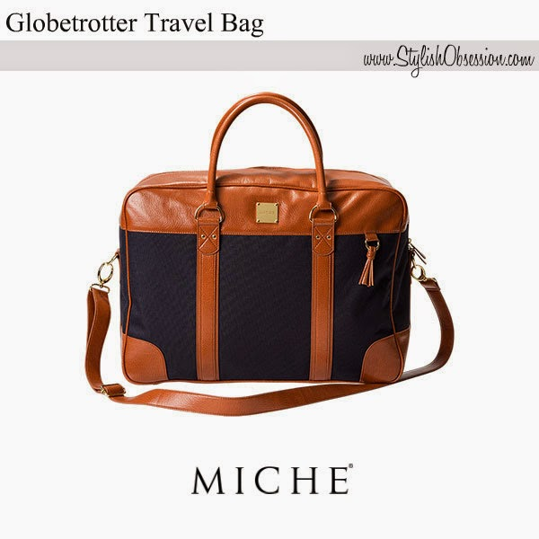Globetrotter Travel Business Bag Tote May 2017 Retired