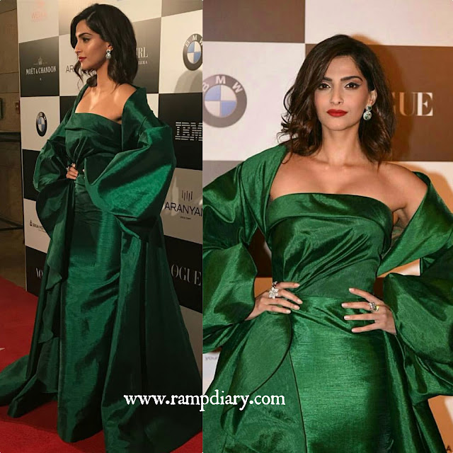 Sonam Kapoor in Fouad Sarkis Couture at Vogue Women of the year Awards 2017