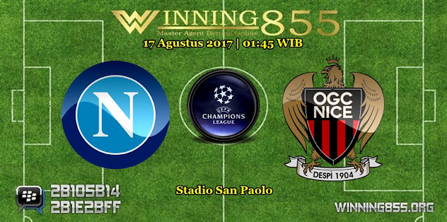 Prediksi Skor Napoli vs Nice