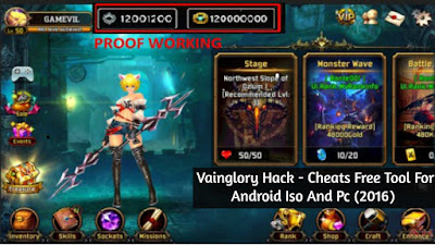 Vainglory Hack - Cheats Free Tool For Android Iso And Pc (2016)