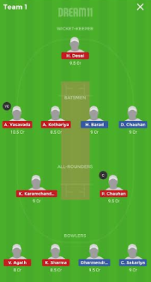SL vs HH dream 11 team