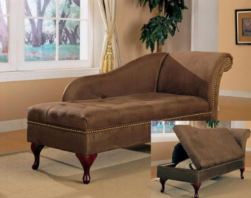 Fainting couch antique fainting couch for sale for Brown microfiber chaise lounge